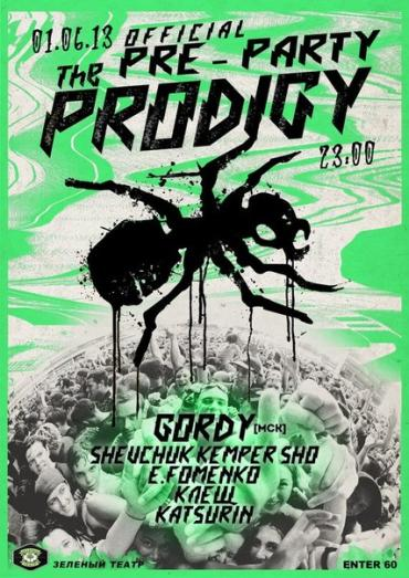 Official Prodigy Pre-Party - Київ 1.06.2013
